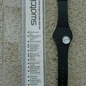 Swatch Accessories - NWOT GB105 1985 swatch Blackout *RARE ASF